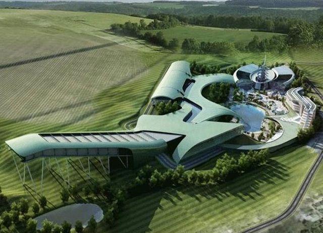 """Государственно-частное партнерство - Этим летом в районе Аксайского моста начнется возведение автотуристского кластера """"Всплеск"""""""