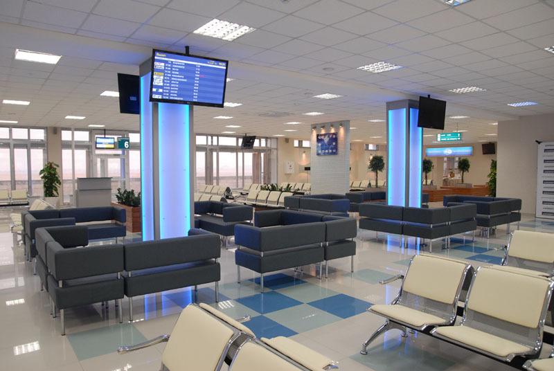 Хабаровский аэропорт открыл два новых зала ожидания для пассажиров ...