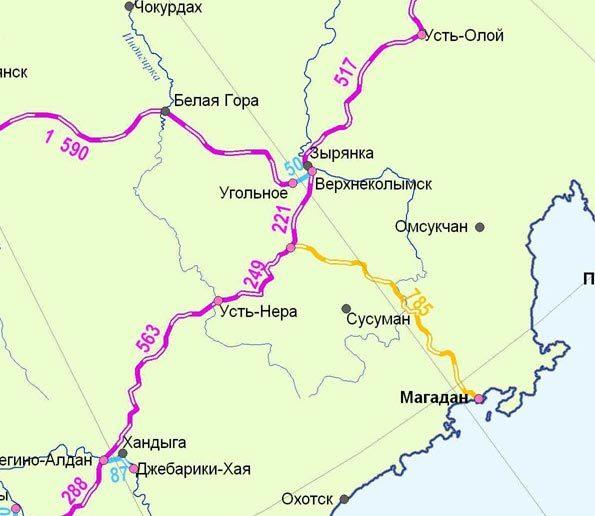 Карта развития железных дорог