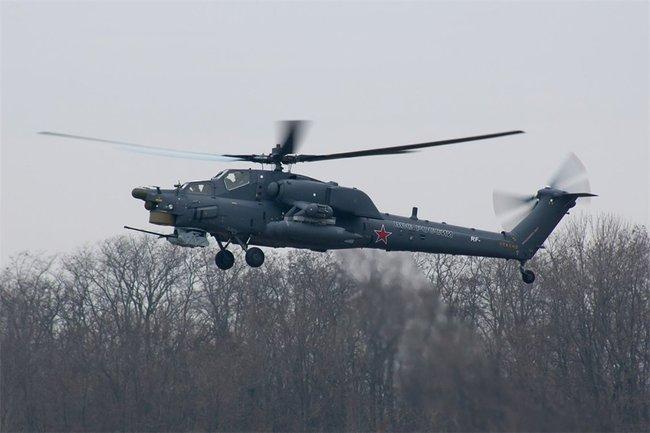 Mi-28 in grigio