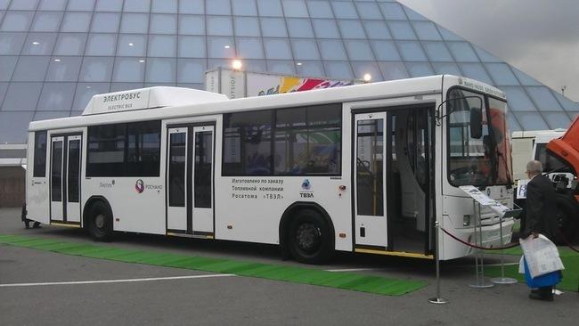 В конце августа успешно прошел сертификацию первый в России электрический автобус (электробус) НЕФАЗ-52992.