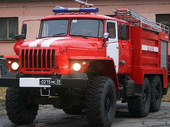 За 20 лет получил новые пожарные машины