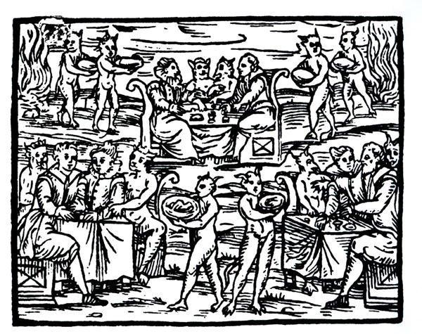 Шабаш. Древняя разновидность конференции. <br/> Francesco Maria Guazzo, (15??-16??), «Compendium Maleficarum»