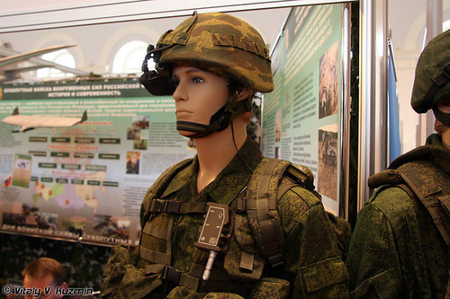 Экипировка оператора Комплекса разведки, управления и связи Стрелец
