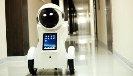 Мобильный информационно-сервисный робот