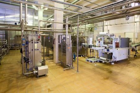 """Линия по производству кефира  """"Домик в деревне """" была запущена на Юрьев-Польском молочном комбинате в начале августа..."""