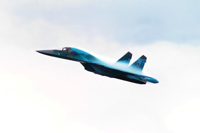 Су-34 на МАКС2011