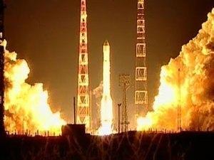 Российская ракета «Протон-М» с мексиканским спутником связи запущена с Байконура Фото: РИА «Новости»<br/>