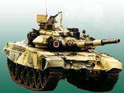 ...танках Т-90С, БТР и зенитных ракетных систем.