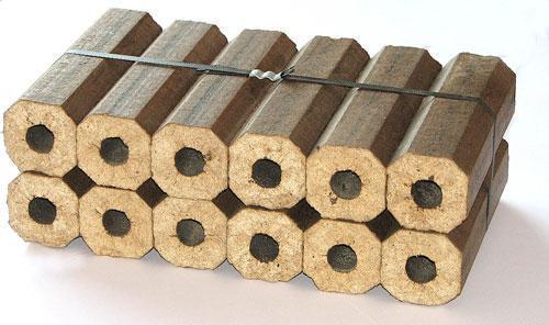 ...древесных топливных брикетов.  Этот альтернативный вид
