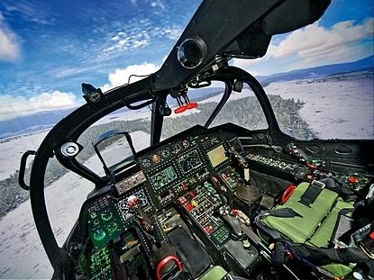 Тренажер вертолета Ка-52 производства ЦНТУ «Динамика»