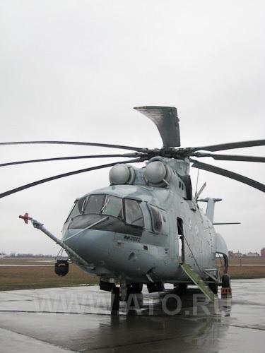 """Ср, 13/04/2011 - 13:08.  На  """"Роствертоле """" проходит летные испытания первый прототип модернизированного вертолета..."""