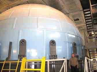 Взрывной центр на базе сферической взрывной камеры