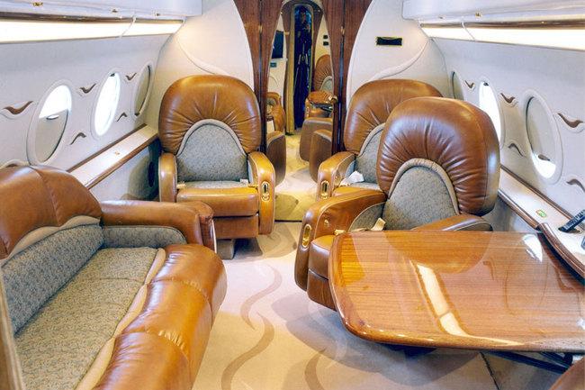 Компоновка салона самолета