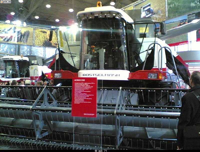 Зерноуборочный комбайн ACROS 55 и 585