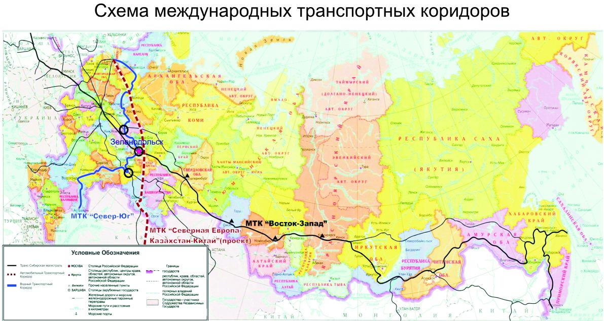 карта-схема юга россии,